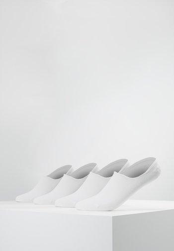 4 PACK - Sukat - white