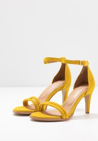 Pavement - AMBER - High heeled sandals - yellow - 4