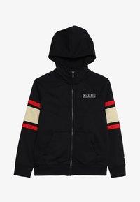 Nike Sportswear - AIR  - Zip-up hoodie - black/team gold/university red - 3