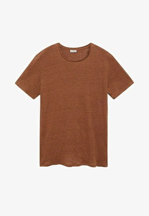 T-shirt basic - orange brûlé