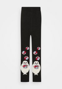 WAUW CAPOW by Bangbang Copenhagen - PLAYFUL BABY - Leggings - Stockings - black - 0