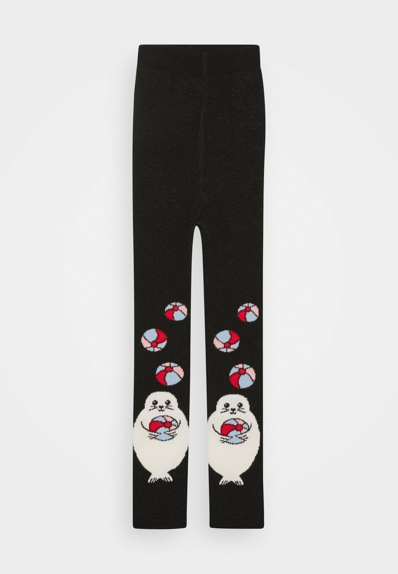 WAUW CAPOW by Bangbang Copenhagen - PLAYFUL BABY - Leggings - Stockings - black