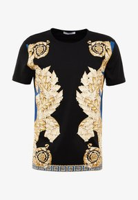 Versace Collection - T-shirt med print - black - 3