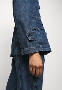 Alberta Ferretti - JACKET - Denim jacket - blue - 5