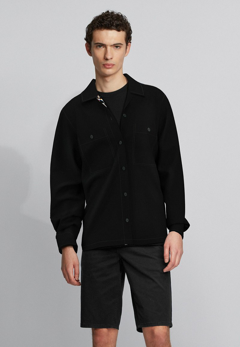 BOSS - LOCKY - Hemd - black