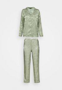 Loungeable - LEAF TRADITIONAL LONG SLEEVE AND LONG PANTS - Pyjamas - multi - 4