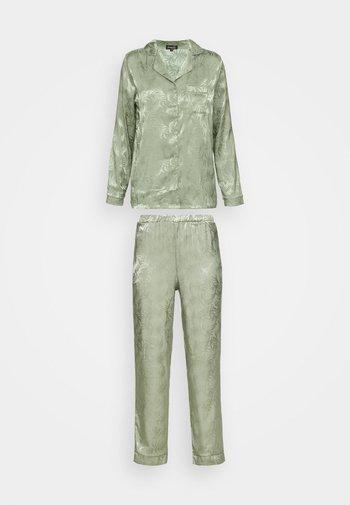 LEAF TRADITIONAL LONG SLEEVE AND LONG PANTS - Pyjamas - multi