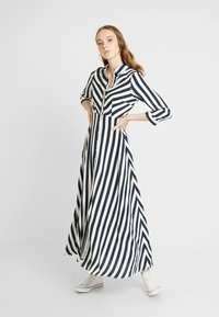 YAS - YASSAVANNA LONG DRESS - Maxi dress - carbon/star white - 0