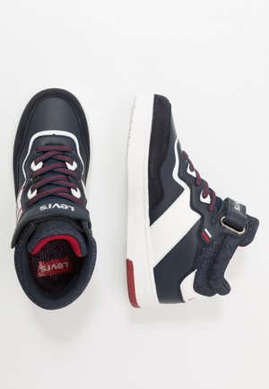 IRVING MID  - Sneakers hoog - navy/red