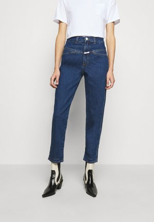 PEDAL PUSHER - Jeans Straight Leg - dark blue