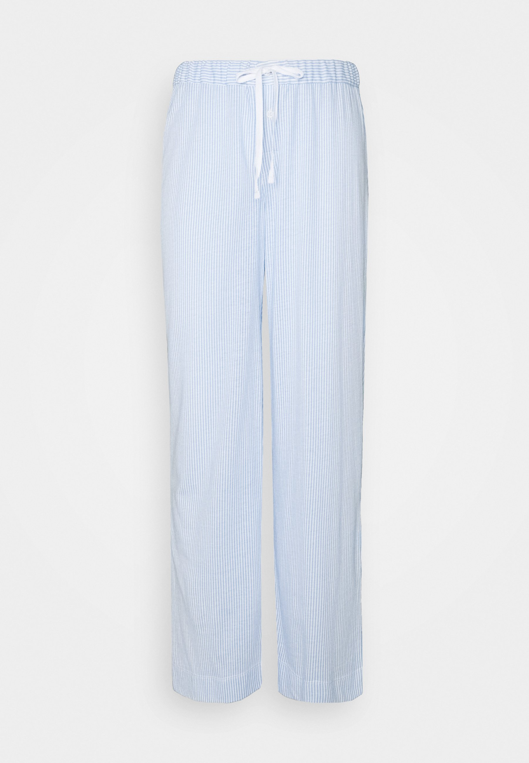 Donna SEPARATE LONG PANTS - Pantaloni del pigiama - blue