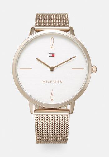 LIZA - Klokke - roségold-coloured/white