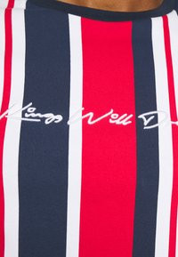 Kings Will Dream - NESTON STRIPE TEE - Print T-shirt - navy/red/white - 5
