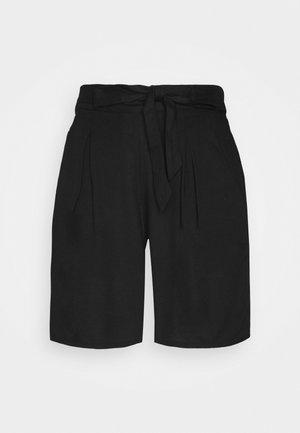 TIE WAIST  - Shorts - black