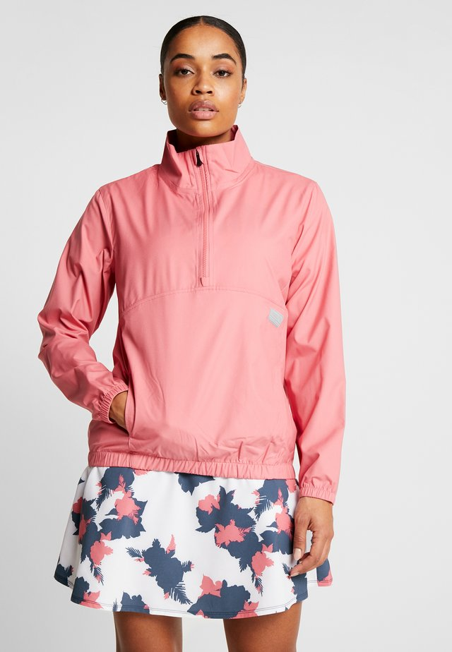 HALF ZIP - Veste coupe-vent - rapture rose