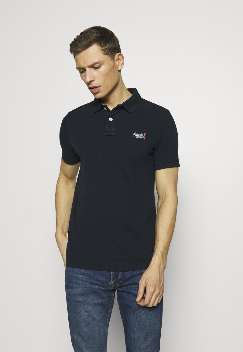 Superdry - CLASSIC  - Polo shirt - eclipse navy