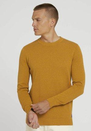 BASIC STRUCTURE - Sweater - rusty orange burned melange