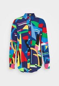 Lauren Ralph Lauren - Button-down blouse - black/multi - 5