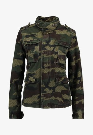 JADE ROOKIE POCKET JACKET - Summer jacket - khaki/brown