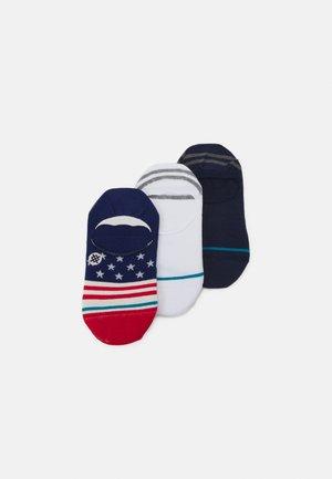 NO SHOW 3 PACK - Ponožky - multi