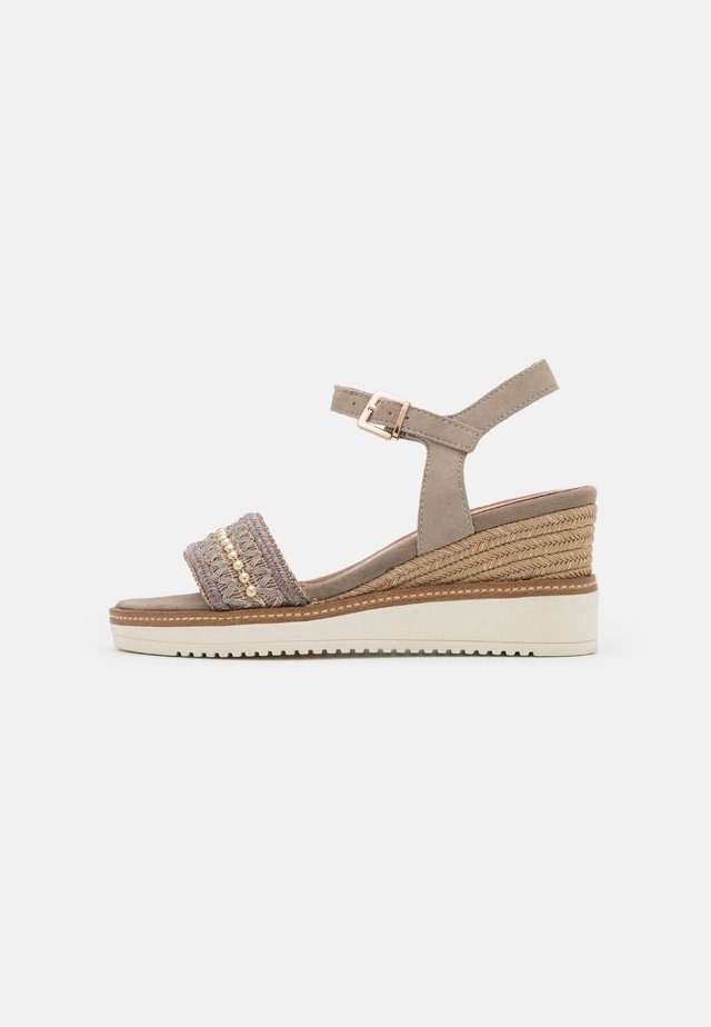 Sandales à plateforme - mud
