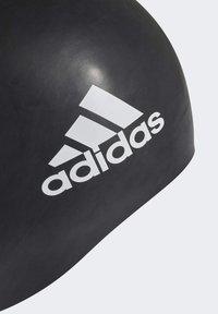 adidas Performance - SILICON 3 STRIPES HEADWEAR SWIM CAP - Swimming accessory - black - 1
