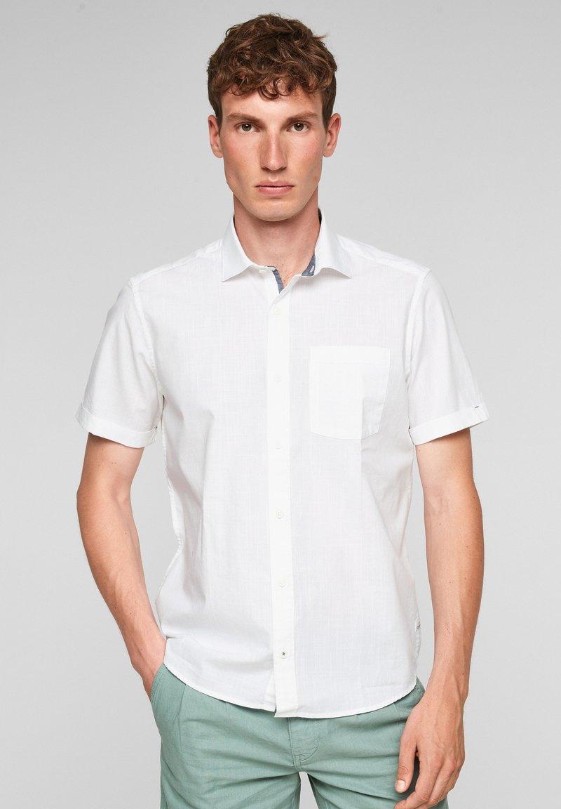 s.Oliver - Shirt - white