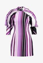THE NEW SENSATION MINI DRESS - Cocktailjurk - purple