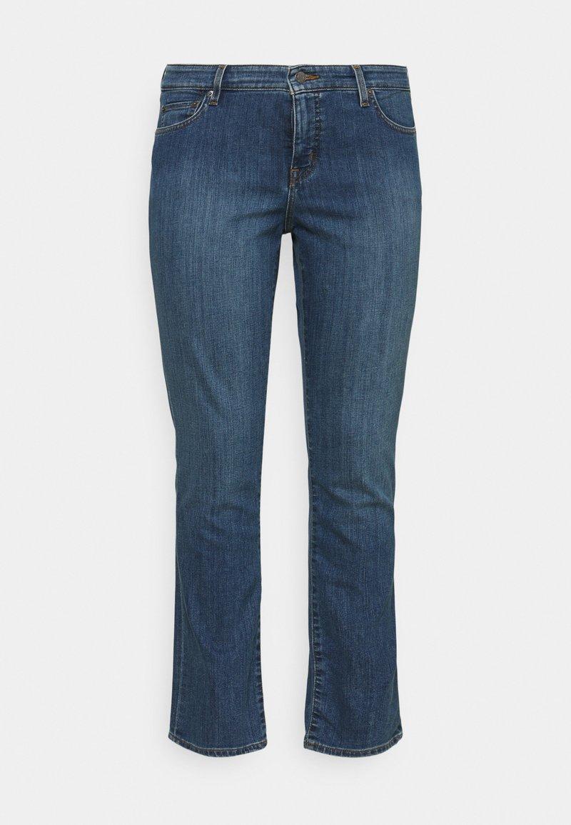 Lauren Ralph Lauren Woman - MIDRISE - Jeans Skinny Fit - ocean blue wash denim
