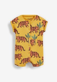 Next - 3 PACK PRINTED POPPER - Jumpsuit - green yellow blue - 2