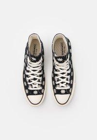 Converse - CHUCK TAYLOR ALL STAR 70 UNISEX - Zapatillas altas - black/egret - 3