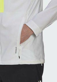 adidas Performance - MARATHON TRANSLUCENT  - Juoksutakki - white - 4