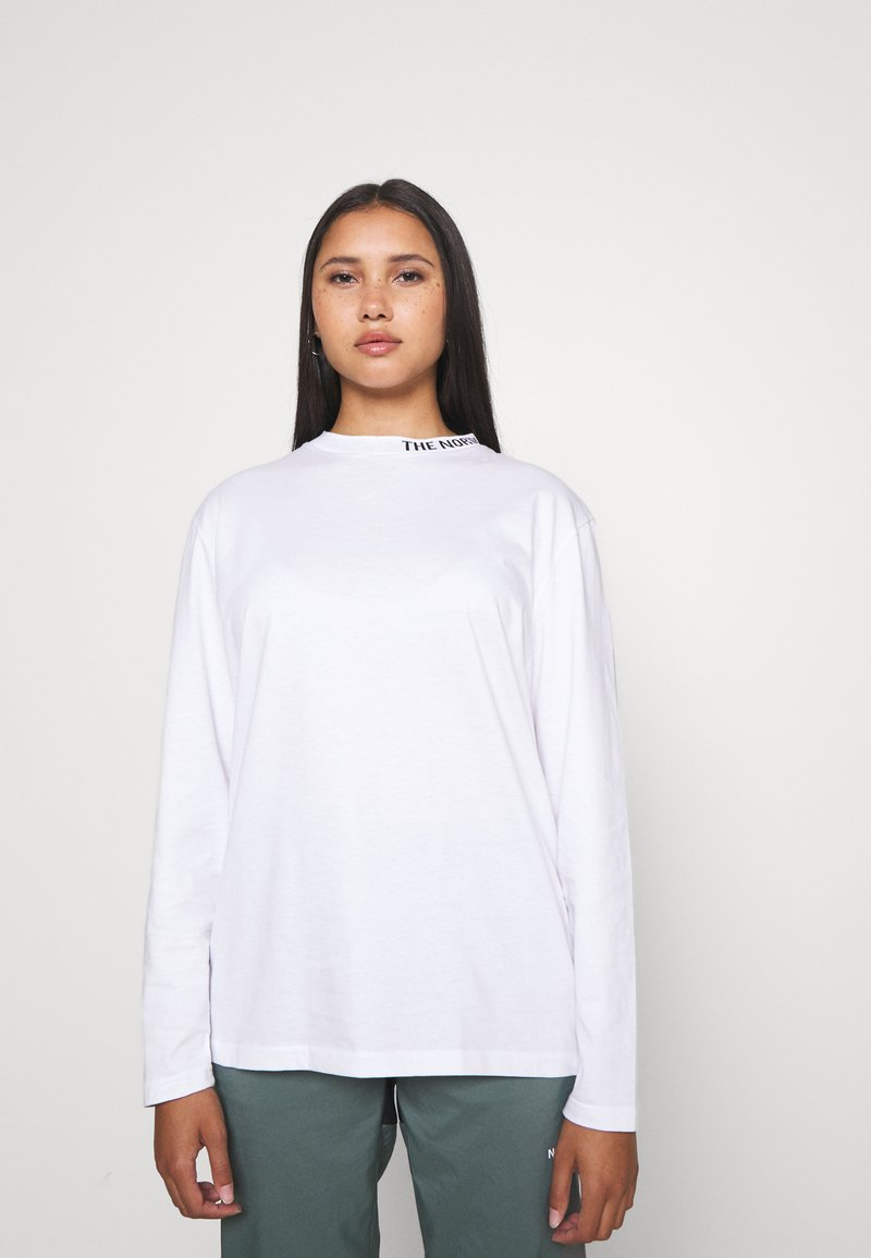 The North Face - NEW ZUMU TEE - Long sleeved top - white