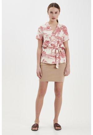 KATE - Mini skirt - natural