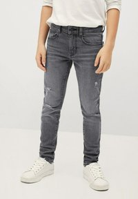 Mango - CALVIN - Slim fit jeans - gris denim - 0