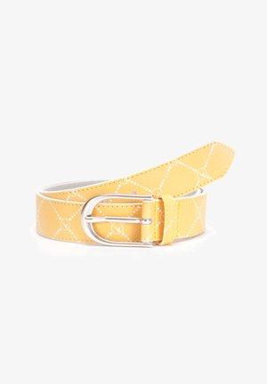 MAALI - Belt - yellow