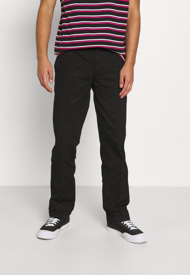 DOT WORKPANT - Pantalones - black