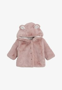 Next - Winter jacket - pink - 0