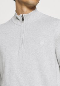 Marc O'Polo - TROYER WITH ZIP - Jumper -  grey - 5