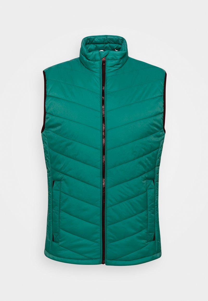 TOM TAILOR - LIGHT WEIGHT VEST - Väst - slate blue green