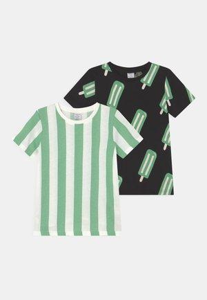 MINI ICE CREAM 2 PACK UNISEX - T-shirt print - black