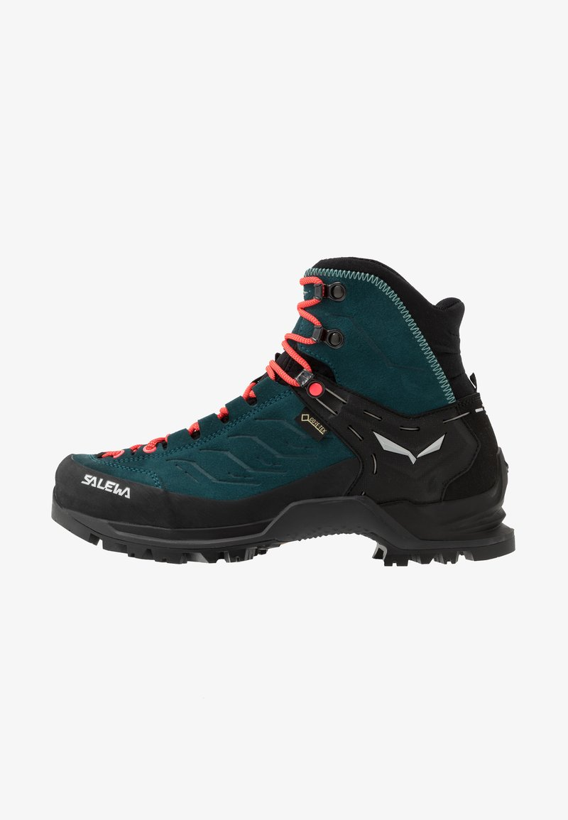 Salewa - MTN TRAINER MID GTX - Hiking shoes - atlantic deep/ombre blue