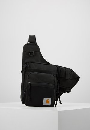 DELTA SHOULDER BAG UNISEX - Saszetka nerka - black