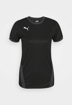 TEAM GOAL  - T-shirt sportiva - black/asphalt