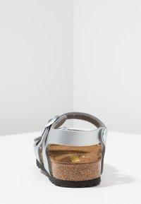 Birkenstock - RIO KIDS - Sandals - silber - 4