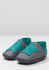 POLOLO - KLEINER STERN  - First shoes - graphit/waikiki - 2