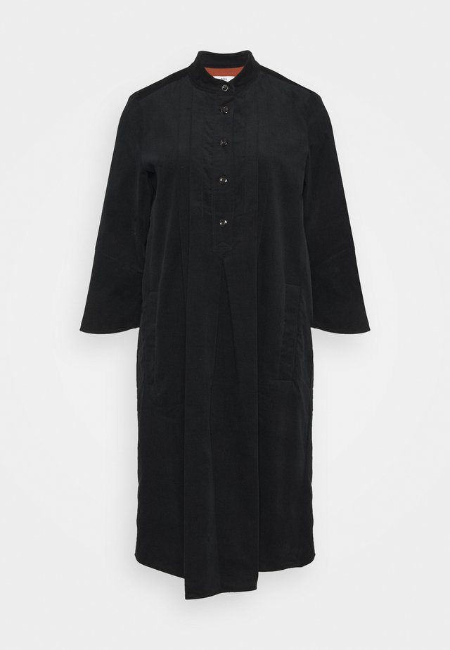 WALES - Shirt dress - black
