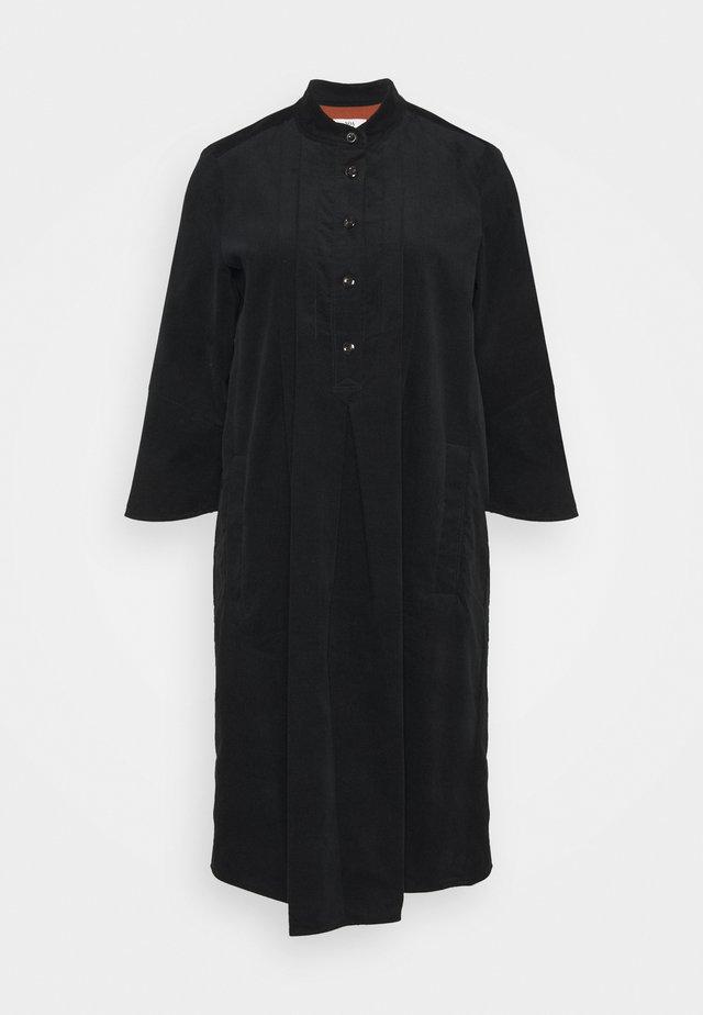 WALES - Skjortklänning - black
