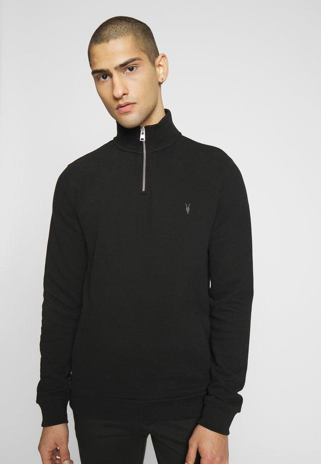 RAVEN - Poloshirts - jet black