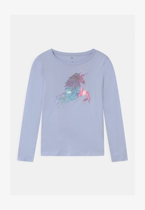 GIRL - Longsleeve - jet stream blue